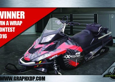 Sled Wrap Contest Winner 2016
