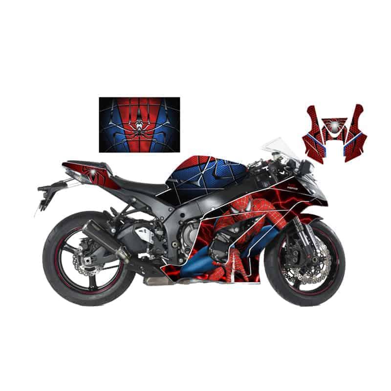 Moto superbike wrap spiderman graphxdp - Spider man moto ...