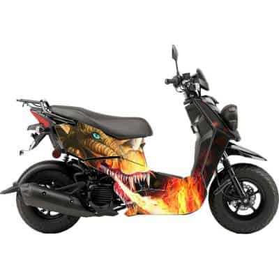 Scooter Wrap Dragon