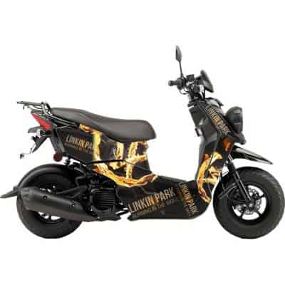 Scooter Wrap Linkin Park