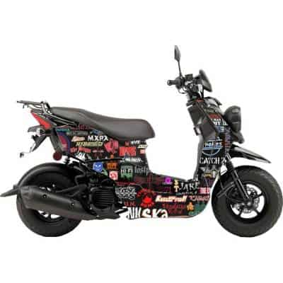 Scooter Wrap Rock Music